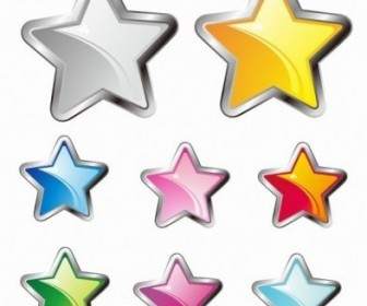 Vector Stars Icon Vector Graphics