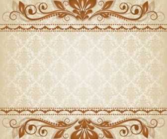 Vector Classic Lace 03 Pattern Vector Art