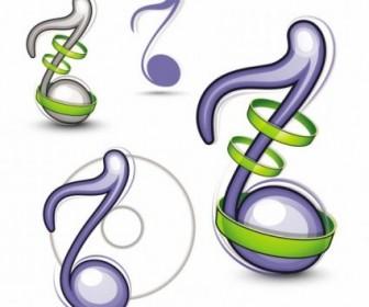 Vector Music Icon Vector Graphics