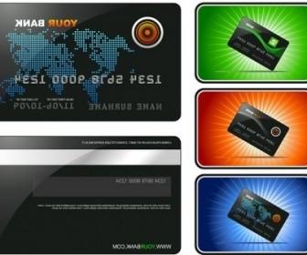 Vector Bank Card Template Vector Art