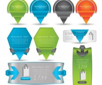 Vector Exquisite Label Card 01 Vector Art