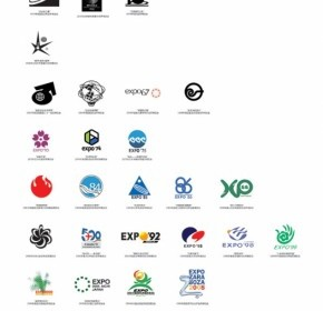 Vector Expos Logo Vector Art