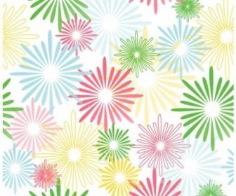 Vector Pattern Floral Vector Art