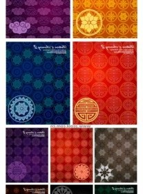 Vector 10 Tile Pattern Background Vector Art