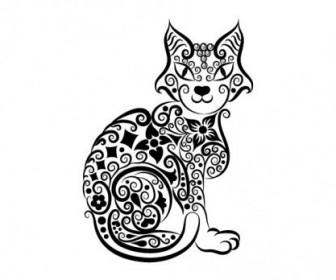Vector Handpainted Animal 03 Pattern Vector Art