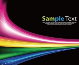Vector Rainbow Background Garphic Abstract Vector Graphics