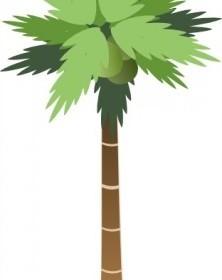 Vector Palm Tree Vector Clip Art