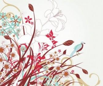 Vector Floral Vector Art