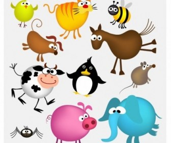 Vector Animals Cartoon Vector Art