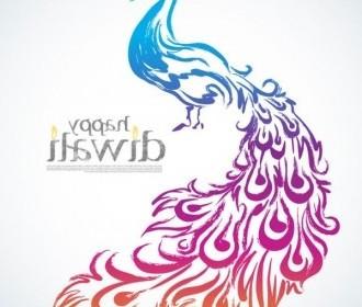 Vector Diwali 01 Background Vector Art