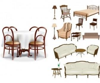 Vector Furniture Vector Art