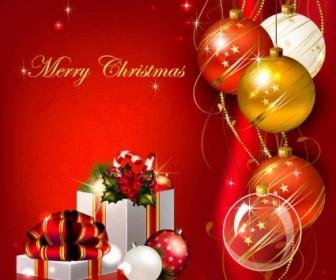 Vector Christmas Background Vector Art