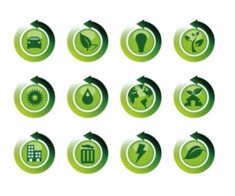 Vector Recycle Reuse Restore Icons Icon Vector Graphics