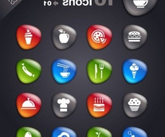 Vector Smooth Soft Stone 01 Icon Vector Graphics