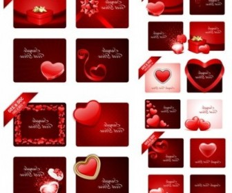 Vector Valentine Day Romantic Elements Heart Vector Art