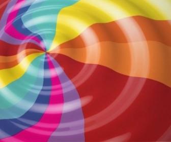 Vector Rainbow Color Background Vector Art