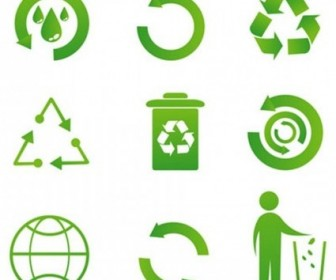Vector Recycle Icon Vector Graphics