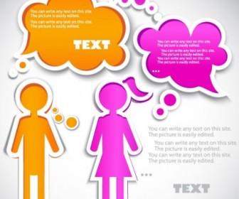 Vector Cartoon Label 01 Background Vector Art