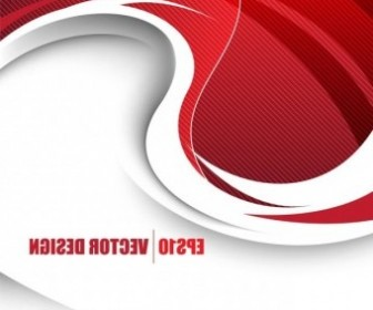 Vector Behind The Red Background Vector Art