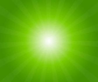 Vector Green Light Burst Abstract Background Vector Art