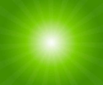 Vector Green Light Burst Abstract Background Vector Art