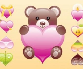 Vector Cute Heart Vector Art