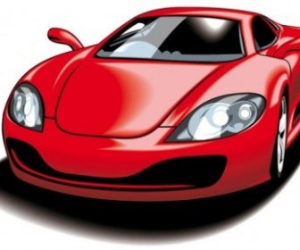 Vector Fine Sports 05 Car Vector Art