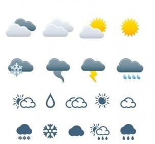 Vector Weather Icons Icon Vector Graphics