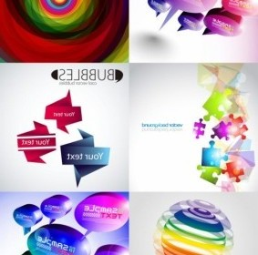 Vector And Threedimensional Shape Of The Colorful Background Vector Art