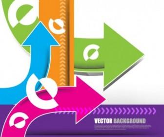 Vector Gorgeous Arrow Vector Art