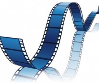 Vector Film Reel Vector Art
