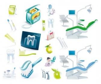 Vector Dentists Theme Vector Art