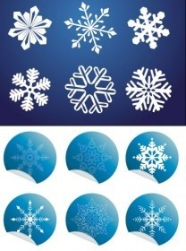 Vector All Kinds Of Snow And Wrap Angle Icon Vector Graphics