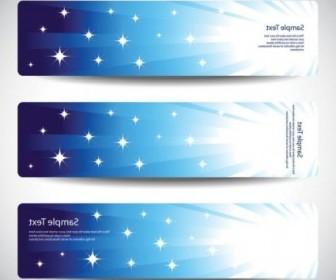Vector Blue Line Banner02 Vector Banner