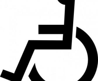 Vector Wheelchair Symbol Vector Clip Art