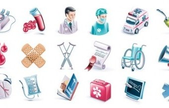 Vector Medical Subjectdimensional Icon Vector Graphics
