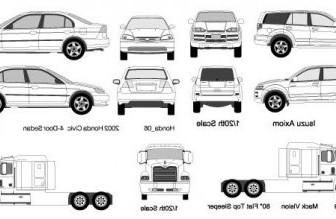 Vector Cars And Trucks Car Vector Art