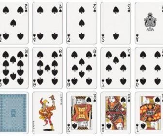 Vector Poker 04 Vector Art