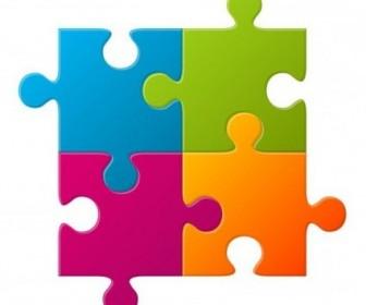 Vector Puzzle Vector Art