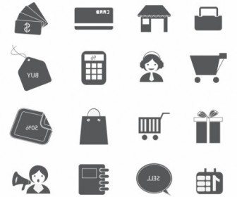 Vector Soulico Shopping Icon Vector Graphics