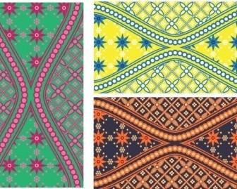 Vector Batik Is Beautiful Swatch Vector Art