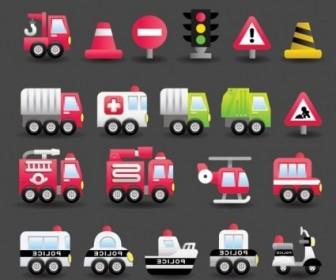 Vector Transport Cute 4 Vector Art