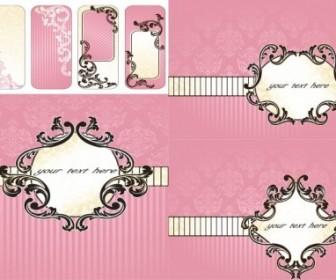 Vector Pink Pattern Background Vector Art