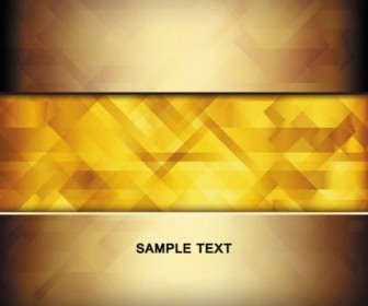 Vector Brilliant Gold 01 Background Vector Art