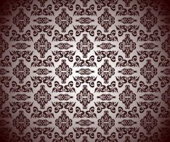 Vector Royal Floral Pattern Graphic Background Vector Art