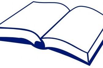 Vector Open Book Vector Clip Art