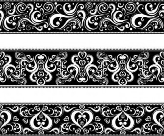 Vector Classic Traditional Lace 04 Pattern Vector Art