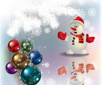 Vector Decorations 04 Christmas Vector Graphics