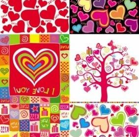 Vector Lovely Romantic Heartshaped Heart Vector Art