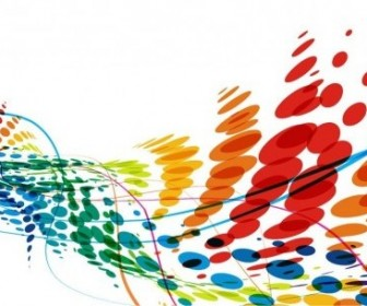 Vector Dot Background Abstract Vector Graphics